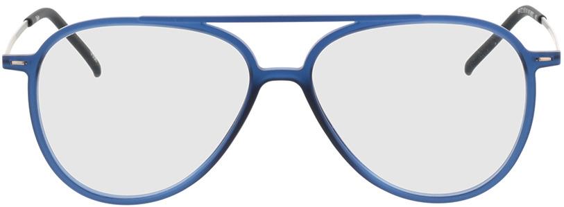 Picture of glasses model Salo-mate azul/prateado in angle 0