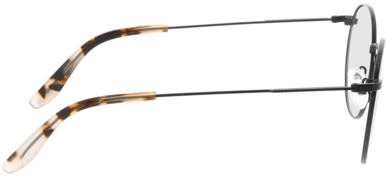 Picture of glasses model Paul-matt schwarz in angle 90