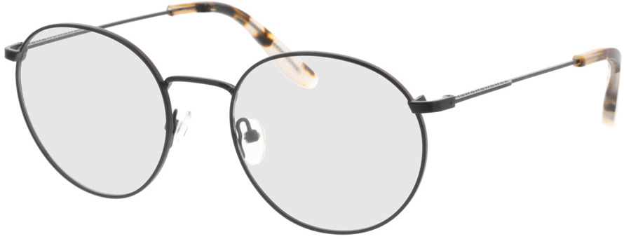 Picture of glasses model Paul-matt schwarz in angle 330