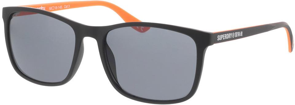 Picture of glasses model Superdry SDS Hacienda 104 black/orange 58-18 in angle 330