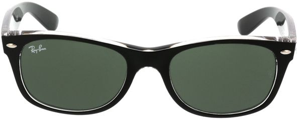 Picture of glasses model Ray-Ban New Wayfarer RB2132 6052 52-18 in angle 0