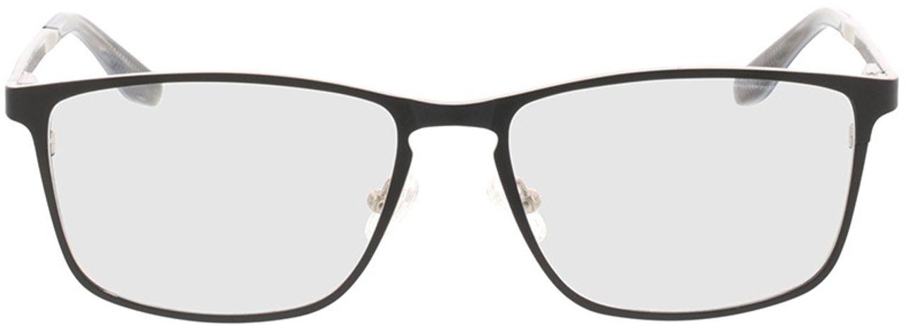 Picture of glasses model Nidus-matt schwarz in angle 0