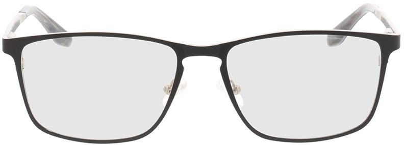 Picture of glasses model Nidus mat zwart in angle 0