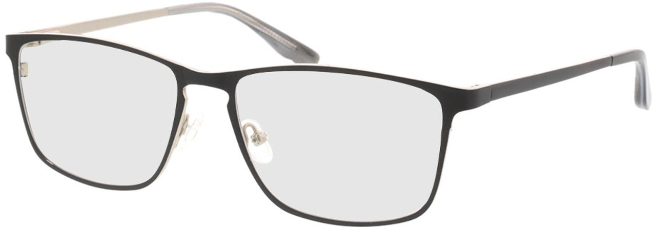 Picture of glasses model Nidus-matt schwarz in angle 330