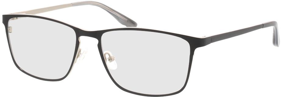 Picture of glasses model Nidus mat zwart in angle 330