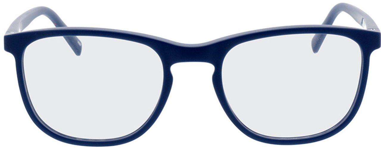Picture of glasses model Tilia-blau in angle 0