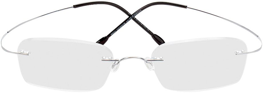 Picture of glasses model Mackay-silber in angle 0