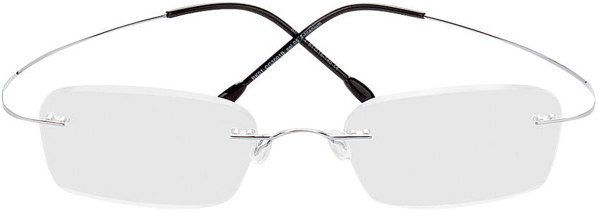 Picture of glasses model Mackay prateado in angle 0
