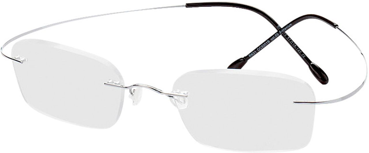 Picture of glasses model Mackay-silber in angle 330