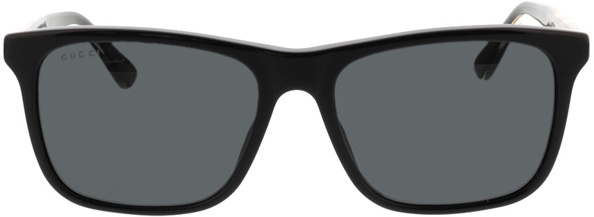 Picture of glasses model Gucci GG0381S-006 57-18 in angle 0