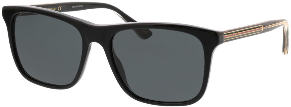 Picture of glasses model Gucci GG0381S-006 57-18 in angle 330