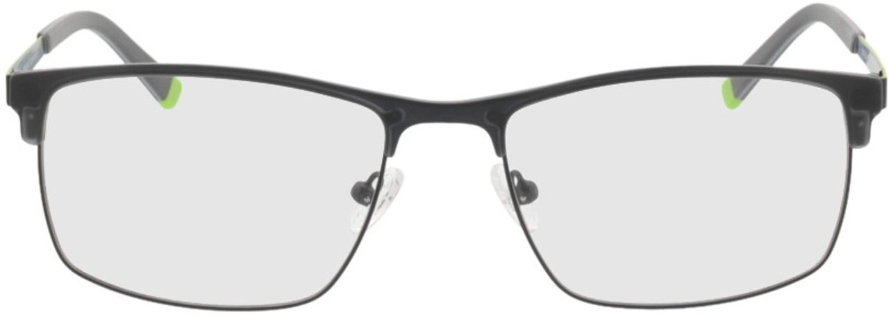 Picture of glasses model Longford-black in angle 0
