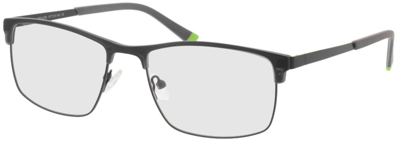 Picture of glasses model Longford-black in angle 330
