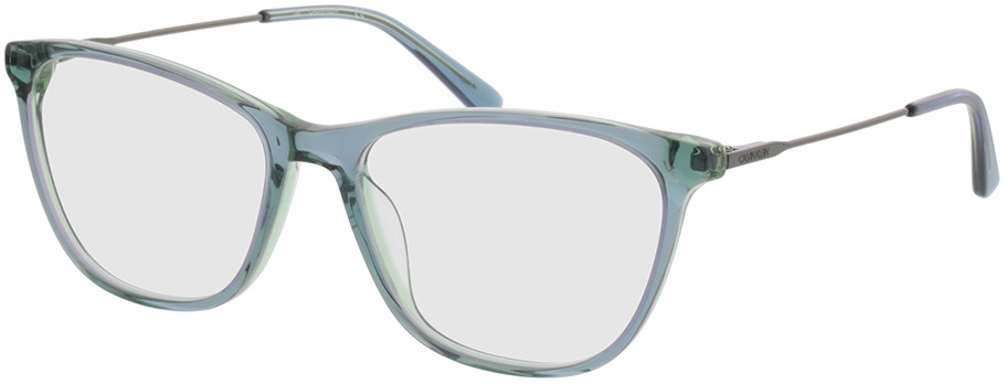Picture of glasses model Calvin Klein CK38055 438 53-16 in angle 330