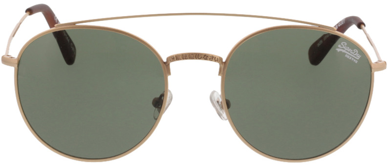 Picture of glasses model Superdry SDS Indianna 001 matte gold/amber 53-19 in angle 0