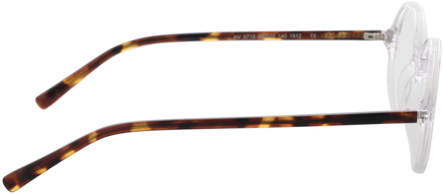 Picture of glasses model Nilo-transparent in angle 90