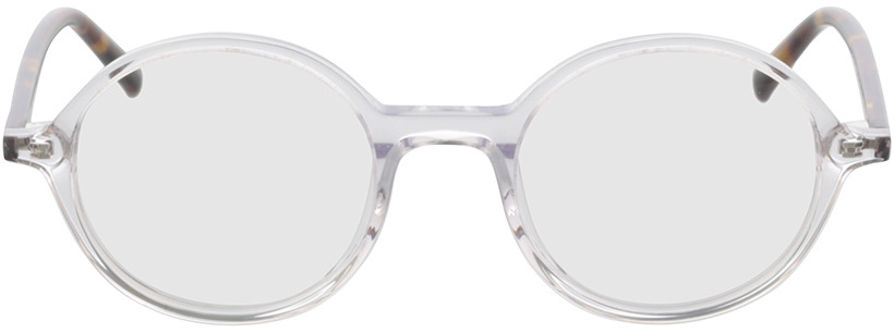 Picture of glasses model Nilo-transparent in angle 0