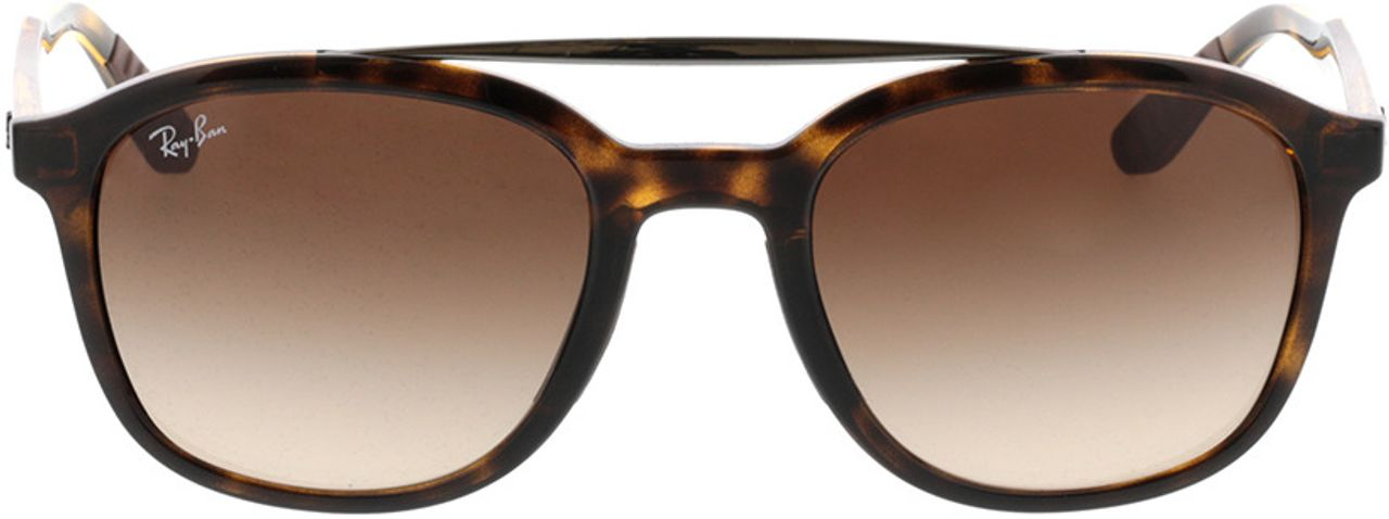 Picture of glasses model Ray-Ban RB4290 710/13 53-21 in angle 0