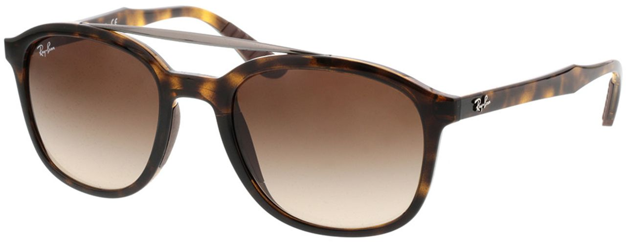 Picture of glasses model Ray-Ban RB4290 710/13 53-21 in angle 330