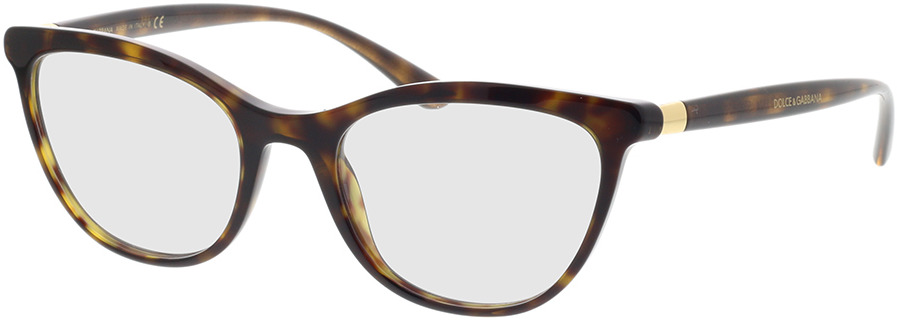 Picture of glasses model Dolce&Gabbana DG3324 502 52-19 in angle 330
