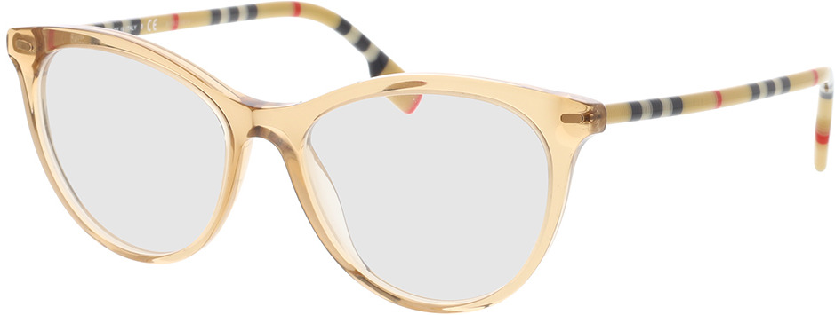 Picture of glasses model Burberry BE2325 3888 51-16 in angle 330