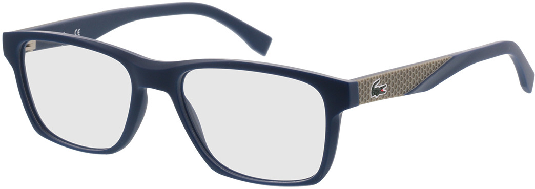 Picture of glasses model Lacoste L2862 424 54-17 in angle 330