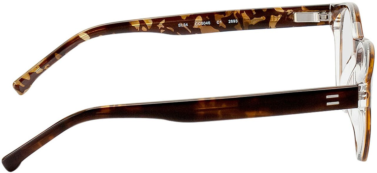 Picture of glasses model Albury-braun in angle 90