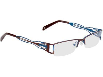 Brille Matola-braun/blau