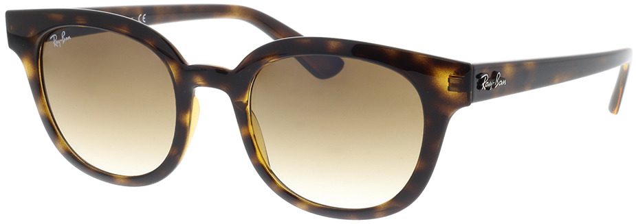 Picture of glasses model Ray-Ban RB4324 710/51 50-21