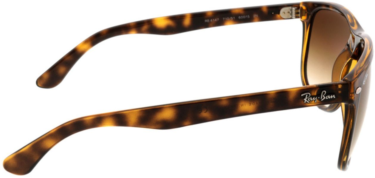 Picture of glasses model Ray-Ban RB4147 710/51 60-15 in angle 90