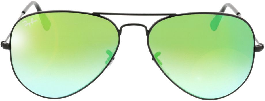Picture of glasses model Ray-Ban Aviator RB3025 002/4J 58-14 in angle 0