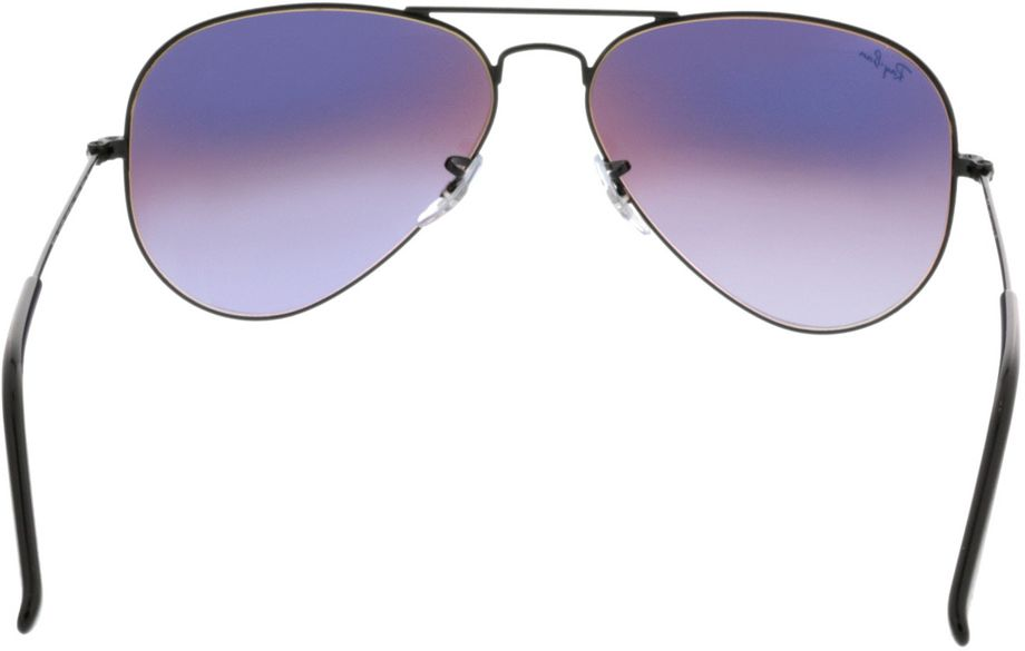 Picture of glasses model Ray-Ban Aviator RB3025 002/4J 58-14 in angle 180