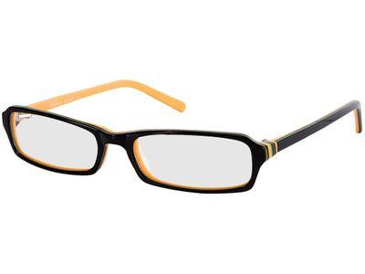 Brille Greer-schwarz/orange