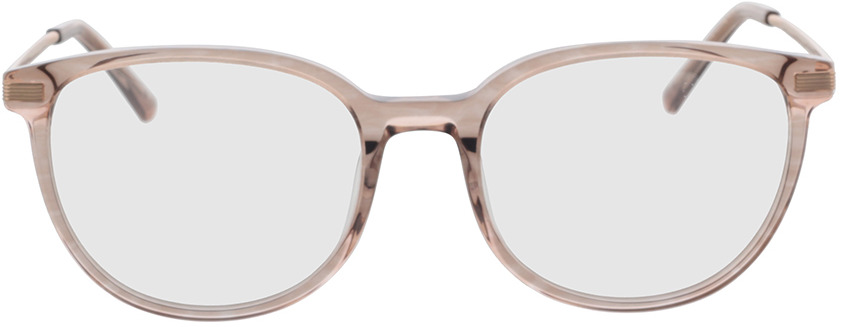 Picture of glasses model Alia-pink-transparent in angle 0