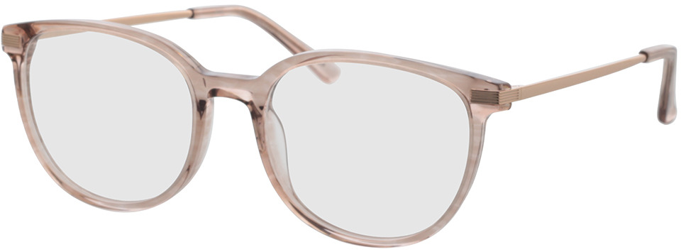 Picture of glasses model Alia-pink-transparent in angle 330