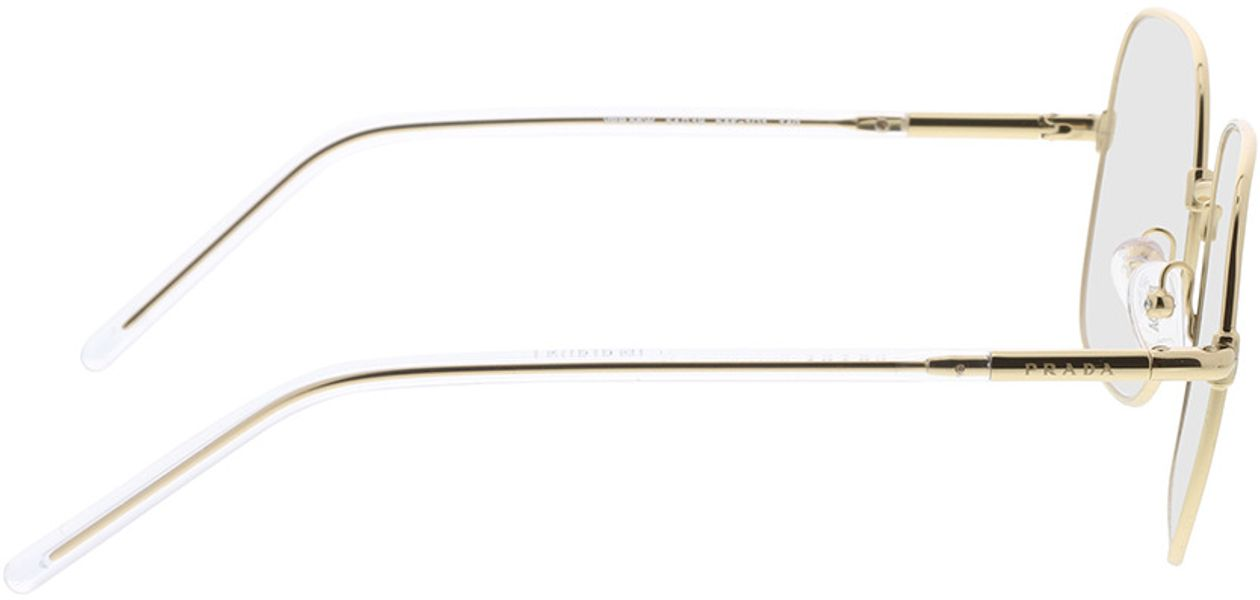 Picture of glasses model Prada PR 56WV 5AK1O1 54-19 in angle 90