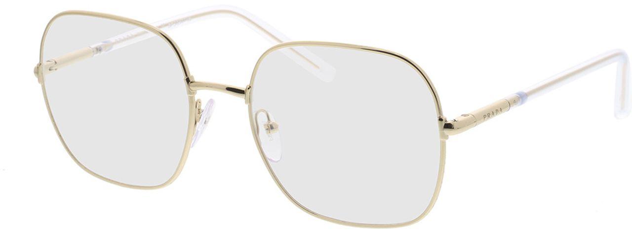Picture of glasses model Prada PR 56WV 5AK1O1 54-19 in angle 330