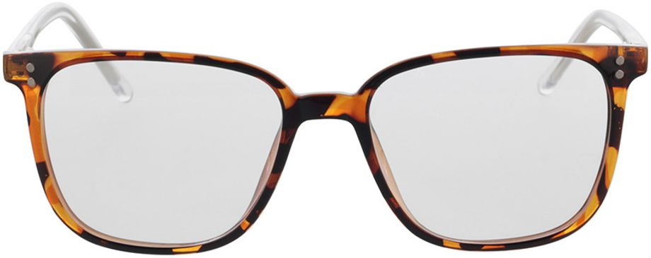 Picture of glasses model Lamesa-braun-meliert/transparent in angle 0