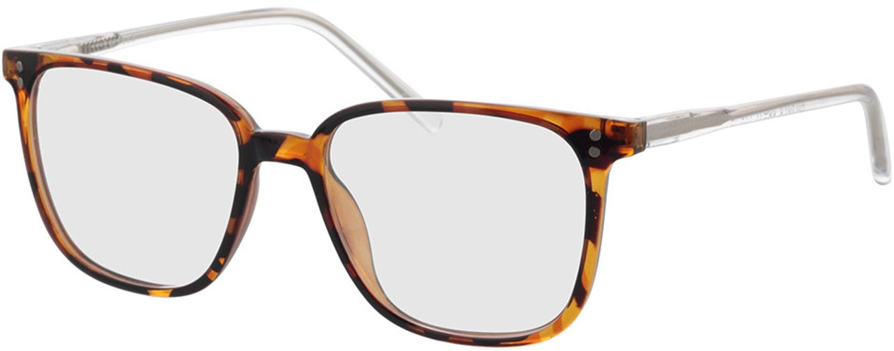Picture of glasses model Lamesa-braun-meliert/transparent in angle 330