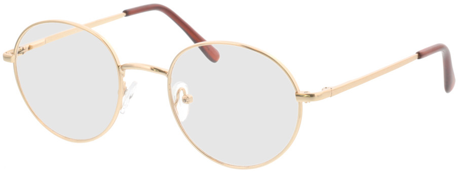 Picture of glasses model Luna-gold in angle 330