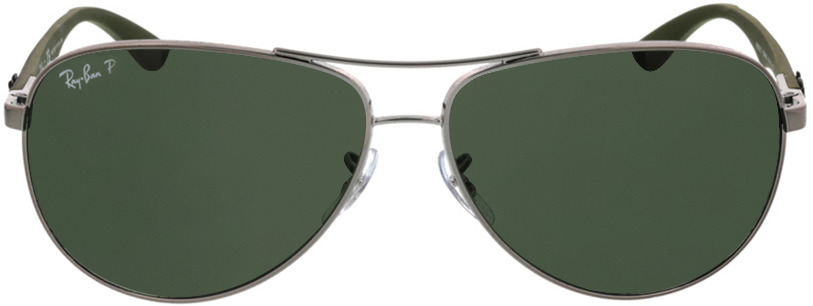 Picture of glasses model Ray-Ban Carbon Fibre RB8313 004/N5 61-13 in angle 0