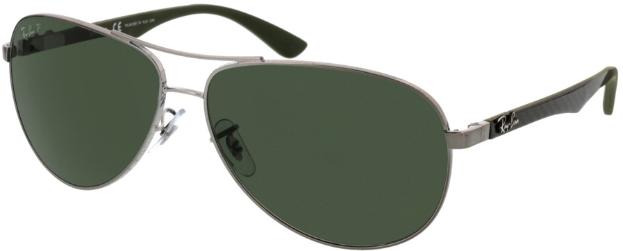 Picture of glasses model Ray-Ban Carbon Fibre RB8313 004/N5 61-13