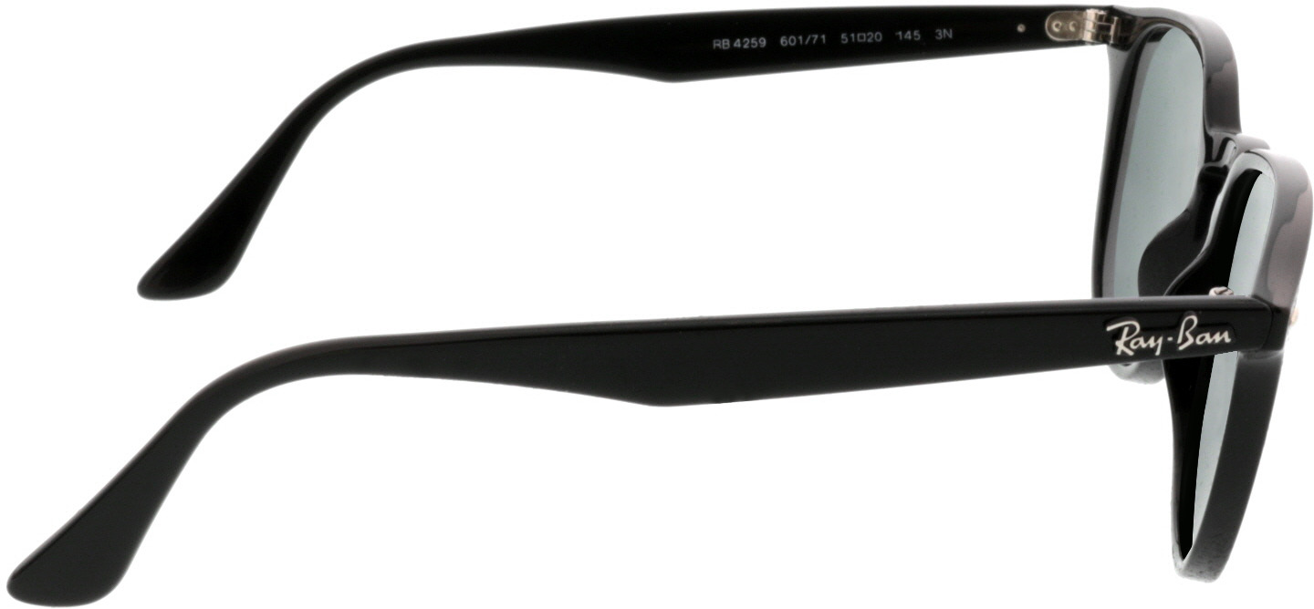 Picture of glasses model Ray-Ban RB4259 601/71 51-20 in angle 90
