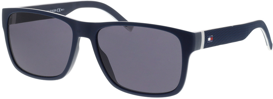 Picture of glasses model Tommy Hilfiger TH 1718/S 0JU 56-16 in angle 330