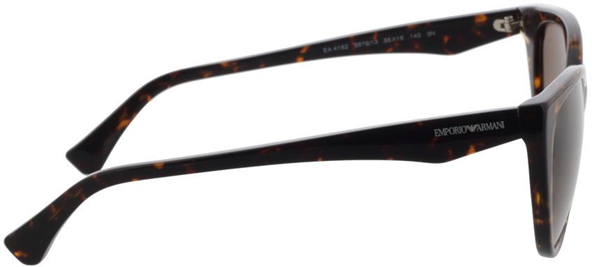 Picture of glasses model Emporio Armani EA4162 587913 55-16 in angle 90