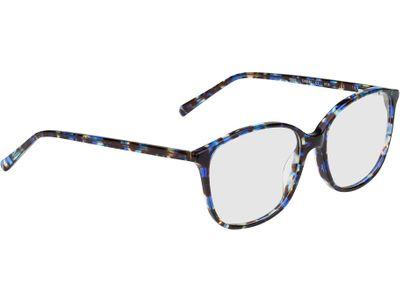 Brille Los Angeles-schwarz/blau-meliert