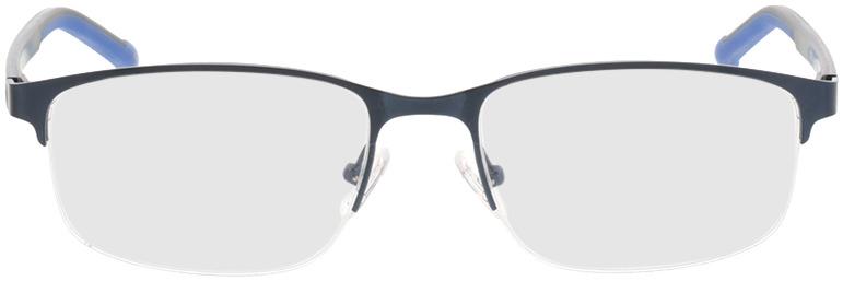 Picture of glasses model Milet-matt blau in angle 0