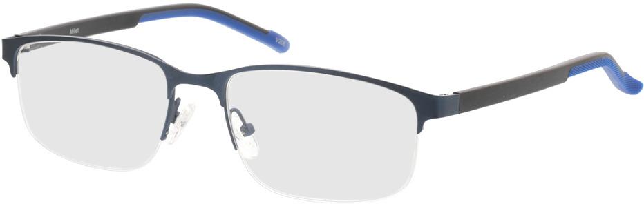 Picture of glasses model Milet-matt blau in angle 330