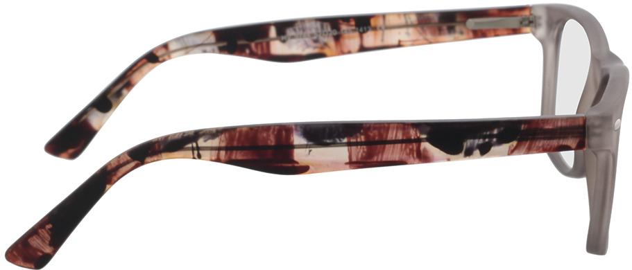 Picture of glasses model Salemi-grau-transparent in angle 90