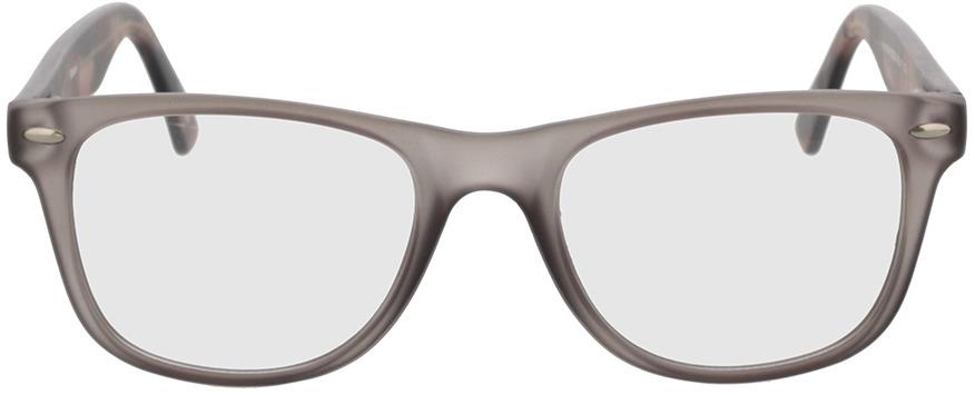 Picture of glasses model Salemi-grau-transparent in angle 0